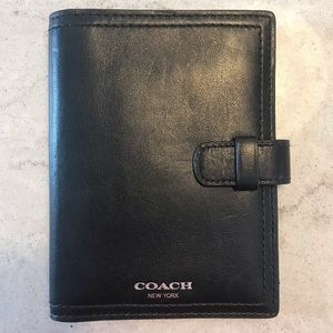 Coach Legacy Collection passport holder